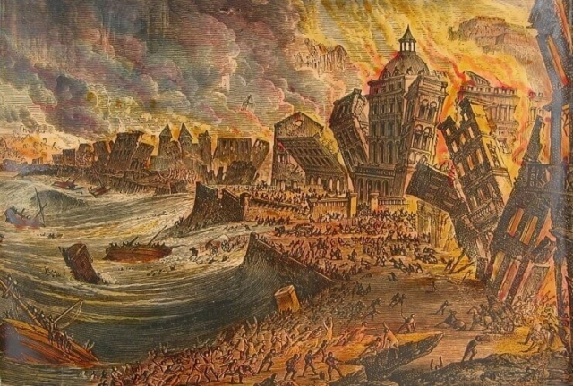 Terramoto 1 de Novembro 1755