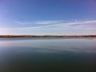 Lago artificial do Alqueva - maior da Europa