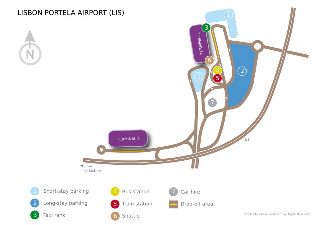 Aeroporto de Lisboa - Terminais