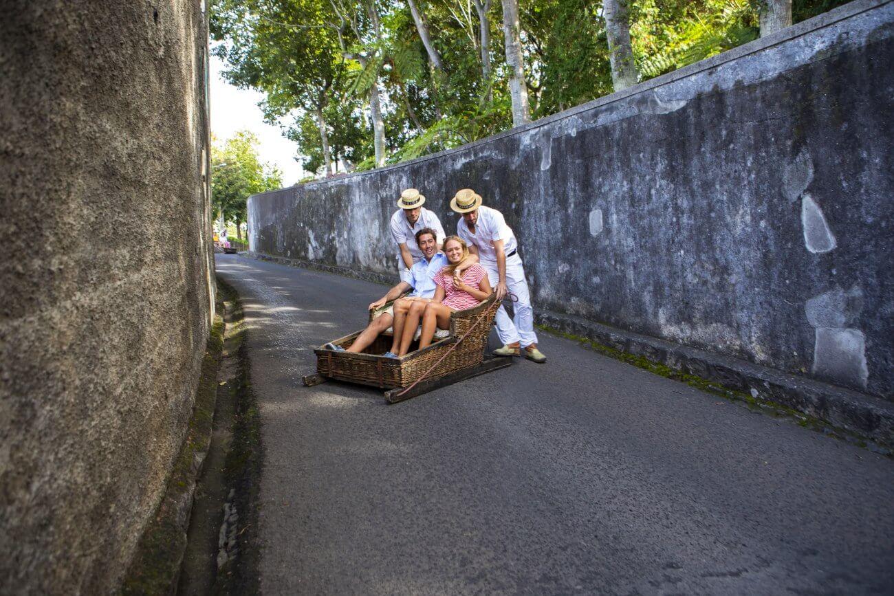 Ilha da Madeira - Carrinho de Cestos