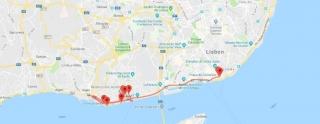 Walking Tour - Praça do Comércio até Belém - Itinerário do tour