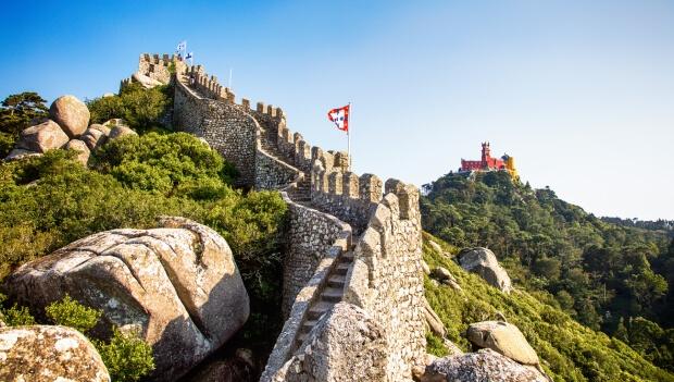 Tour Sintra, Cabo da Roca e Cascais   Castelo dos Mouros