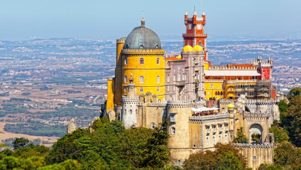 Tour Sintra, Cabo da Roca e Cascais   Palácio da Pena
