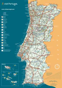 Mapas de Portugal em alta Resolução | Guia de Fátima