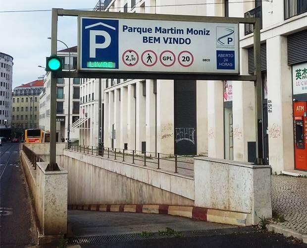 Estacionar o Carro na Cidade de Lisboa | Informação Parques Subterrâneos
