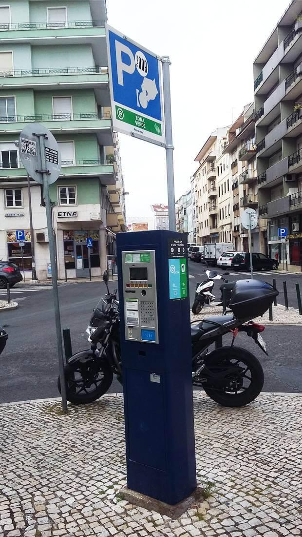 Estacionar o Carro na Cidade de Lisboa | Parquímetro