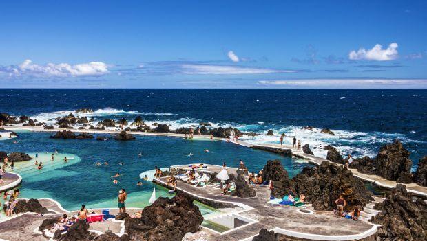 Ilha da Madeira Portugal | Piscinas Naturais do Porto Moniz