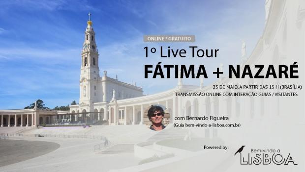 1º Live Tour Fátima e Nazaré | Portugal