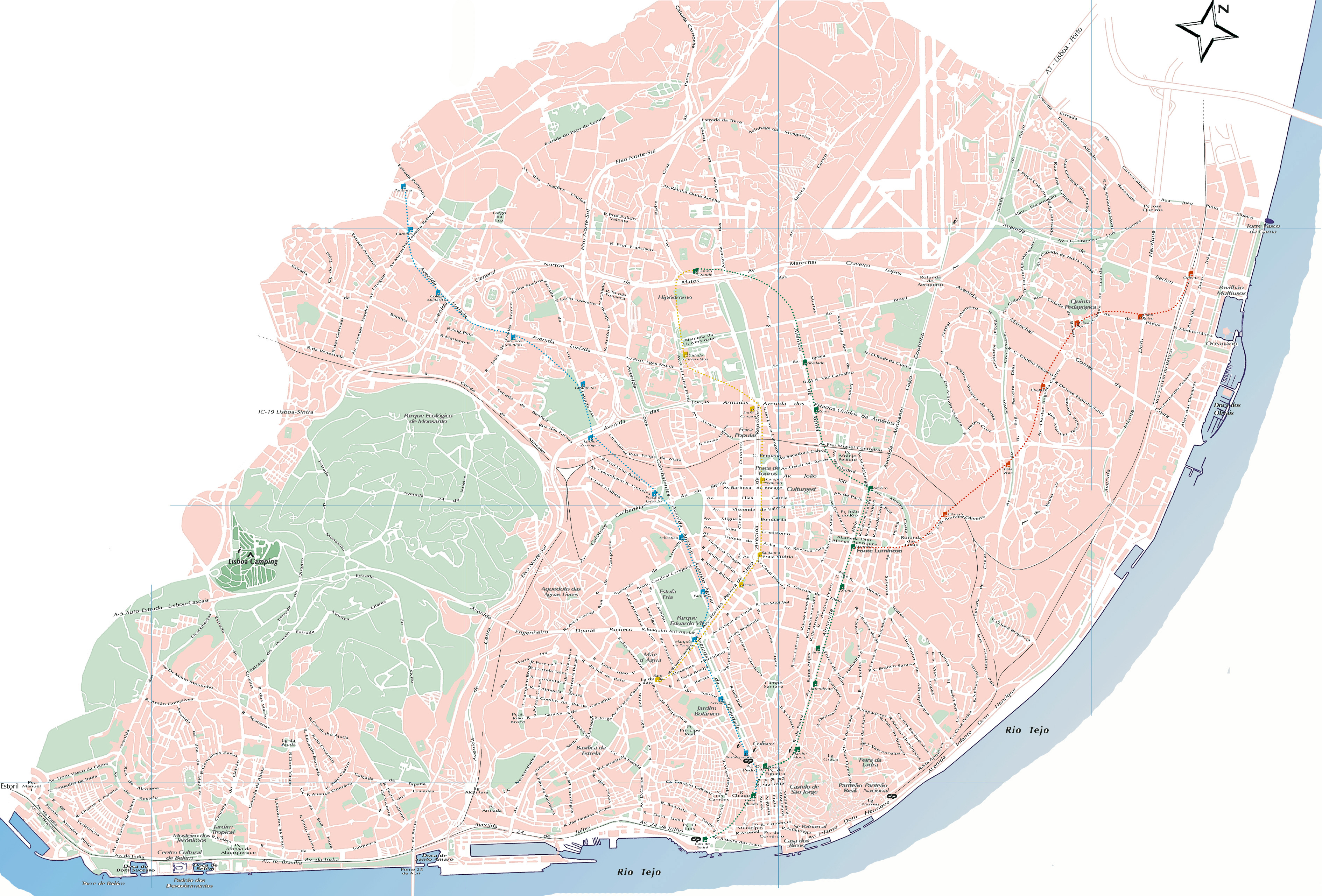 mapa ruas cidade lisboa Mapas de Portugal, Mapa de Lisboa | Faça o Download Gratuitamente mapa ruas cidade lisboa